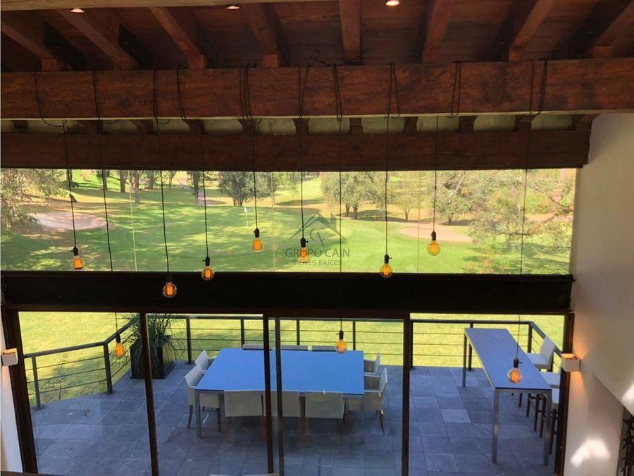 casa en venta club de golf avandaro
