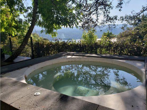 casa en venta con vista al lago de valle