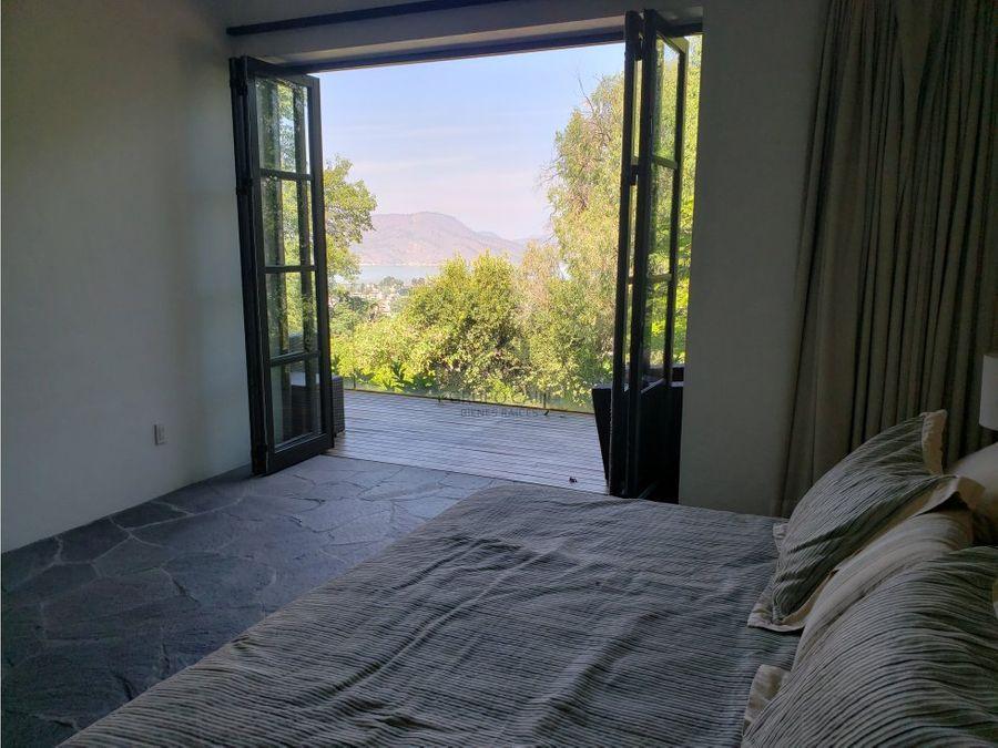 gran departamento en renta con vista al lago