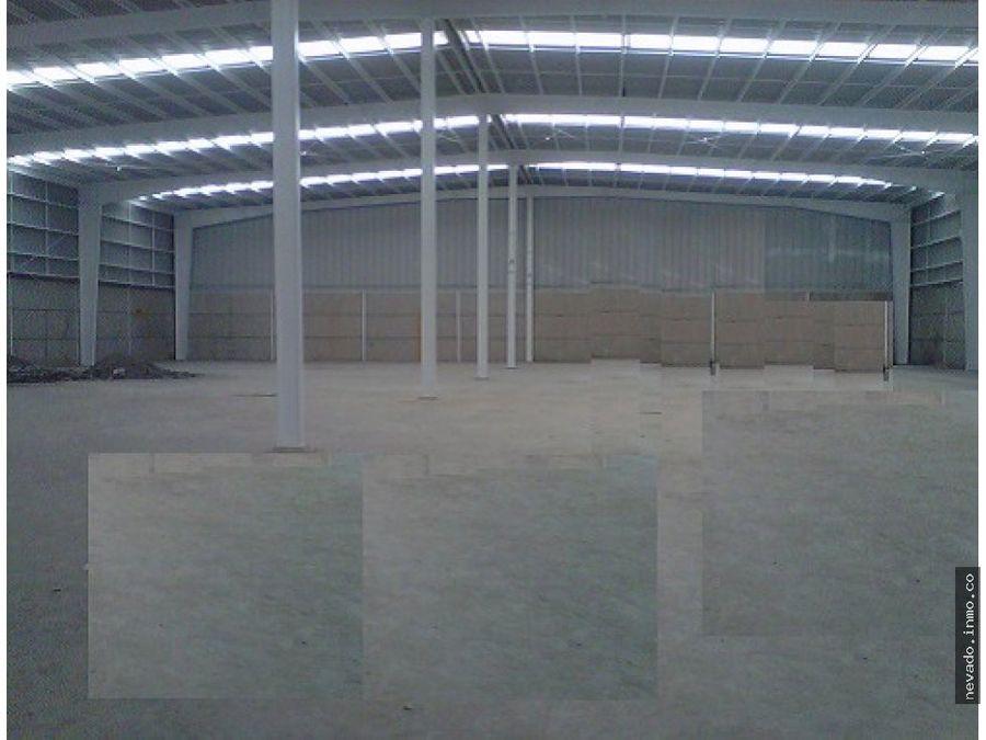 renta de bodega industrial de 7156 m2 en toluca