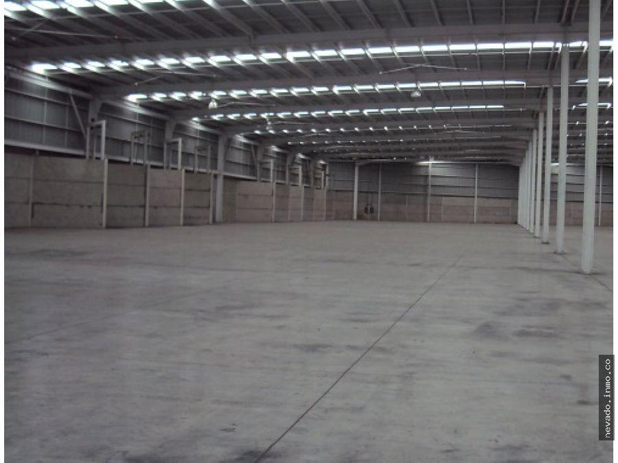 renta de bodega de 8566 m2 industrial en toluca
