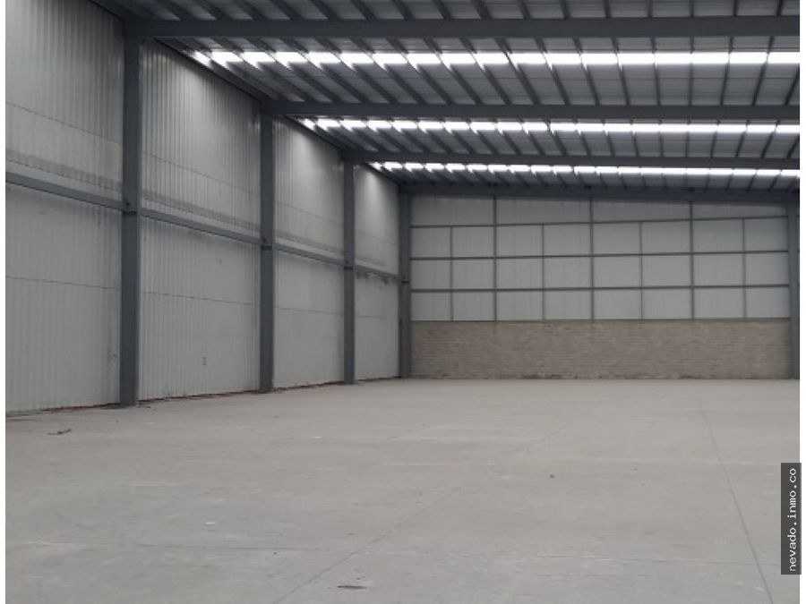 bodega industrial de 9971 m2 en renta en toluca