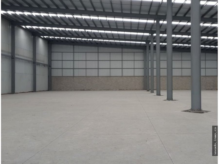 renta de bodega industrial en toluca de 1508 m2