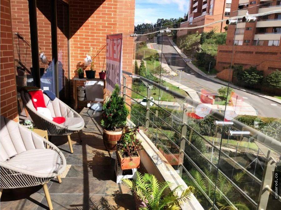 vendo espectacular apto en reserva de la sierra terraza y balcon