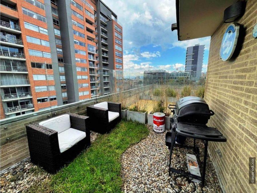 vendo apartaesudio divino con terraza en bella suiza