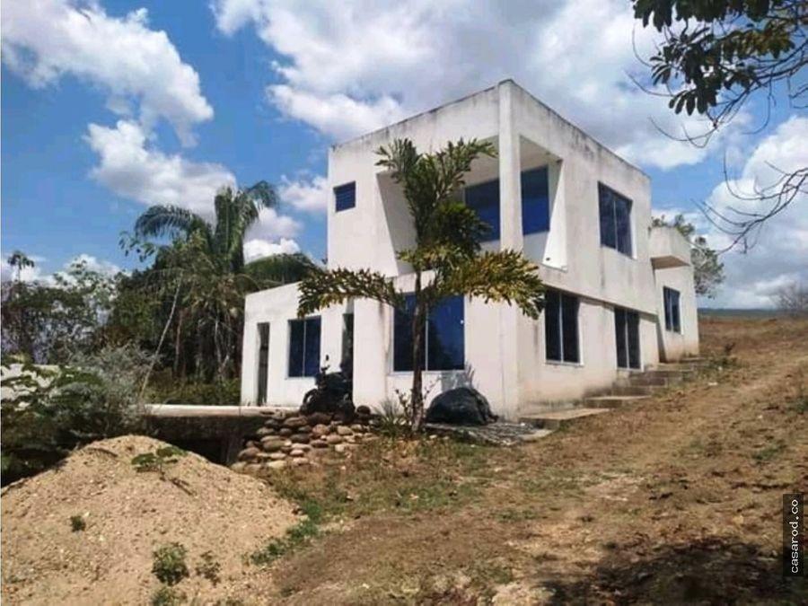 vendo casa en obra gris en carmen de apicala