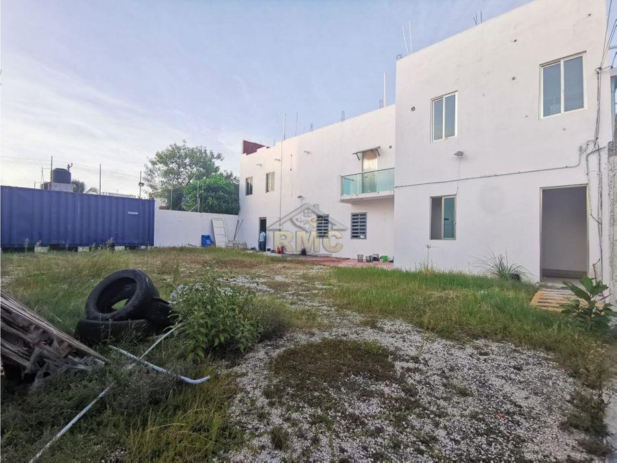 venta o renta oficinas con patio en col caleta ciudad del carmen