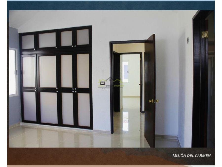 casa en venta 3 cuartos ciudad del carmen