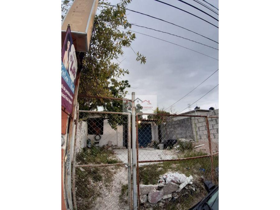 venta de terreno 200 mts2 col morelos ciudad del carmen