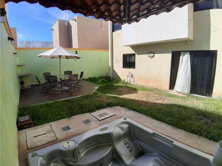renta de casa en residencial ciudad del carmen