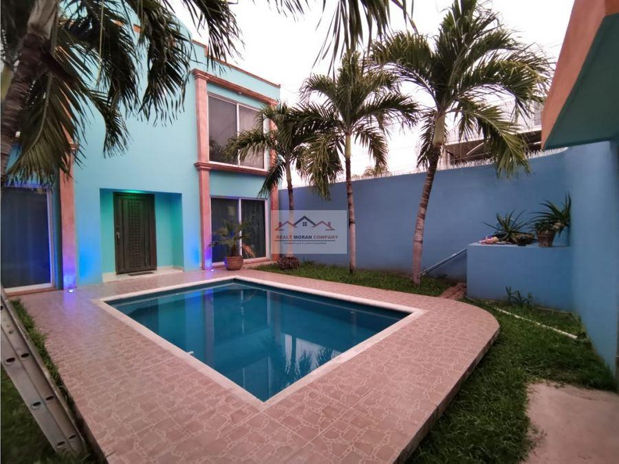 casa en renta col playa norte ciudad del carmen