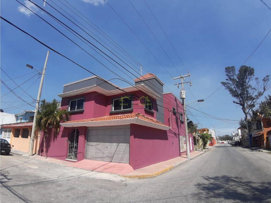 venta de casa col playa norte ciudad del carmen