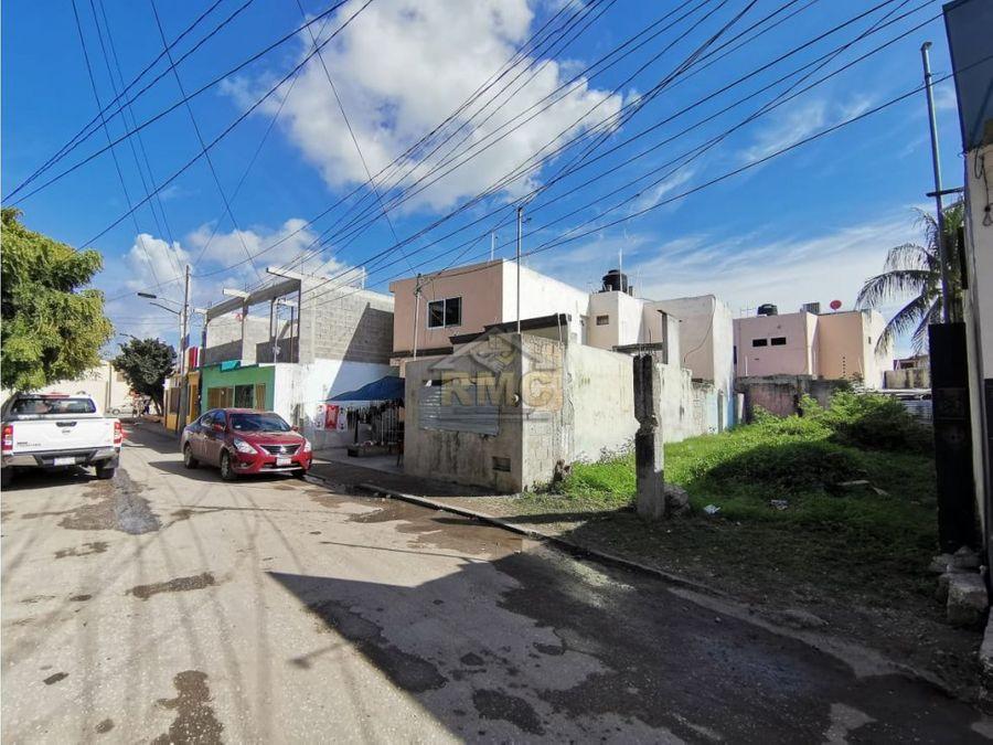 venta de terreno 770x20 col belizario ciudad del carmen
