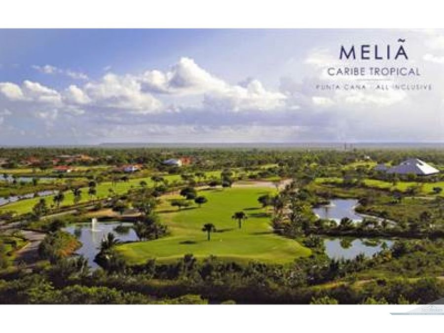 bavaro cocotal golf country club 1 hab condo