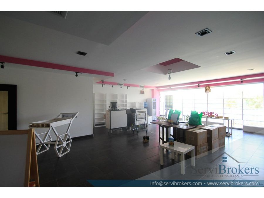 local comercial alquiler 97 m2 punta cana village