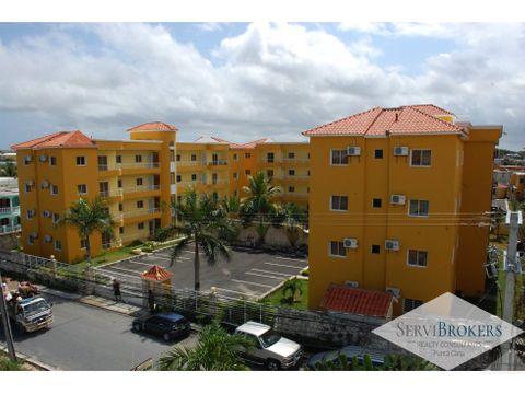 multi plex 48 apartamentos con piscina friusa bavaro punta cana
