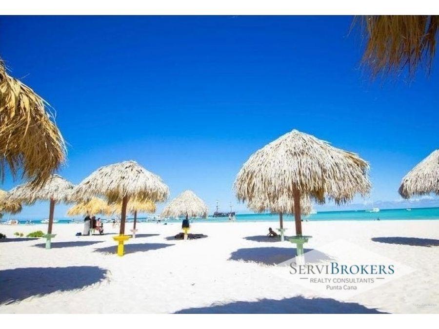 punta cana playa corales venta lote 3villas 4habitaciones