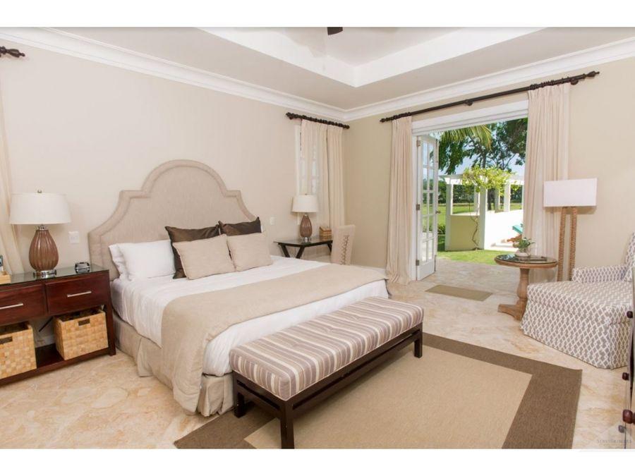 punta cana resort villa 4 habitaciones vista al golf
