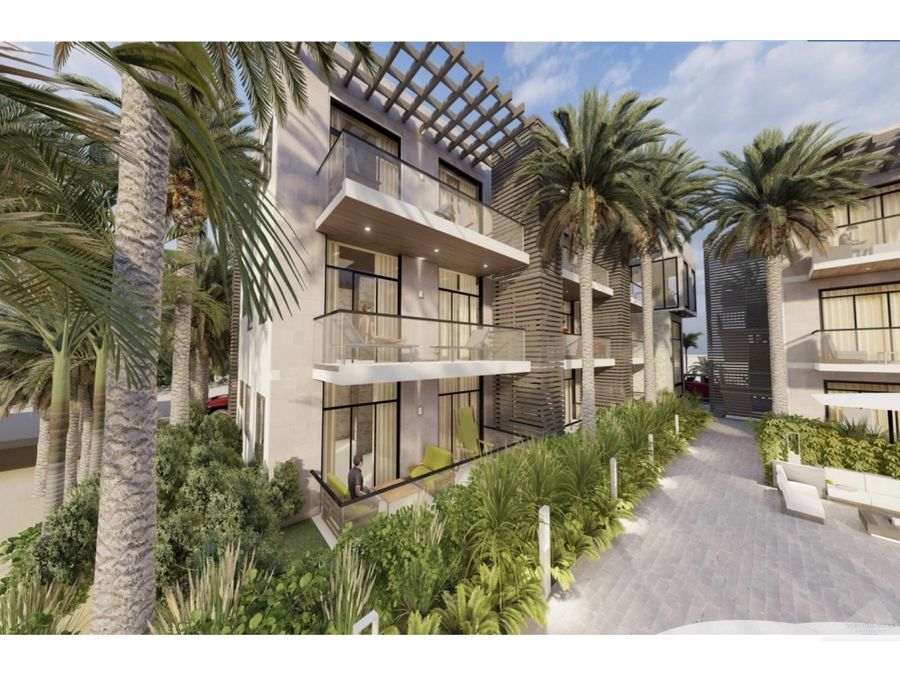 nuevo proyecto apartamentos 2 habitaciones desde 110000 punta cana