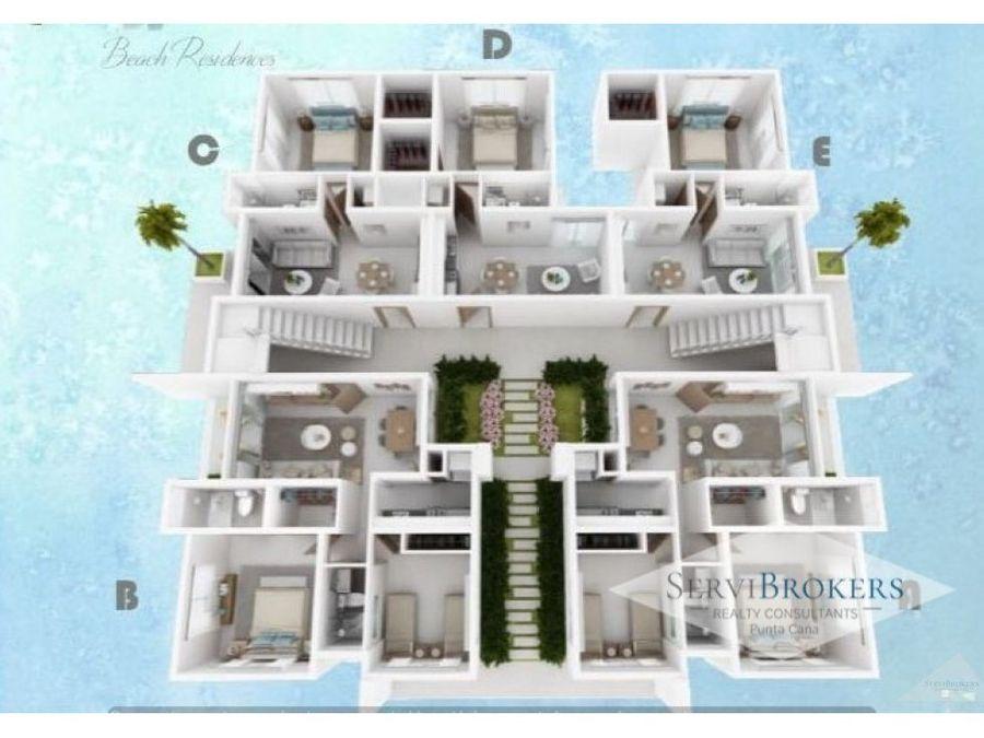 punta cana venta apartamento 1 habitacion 1 bano