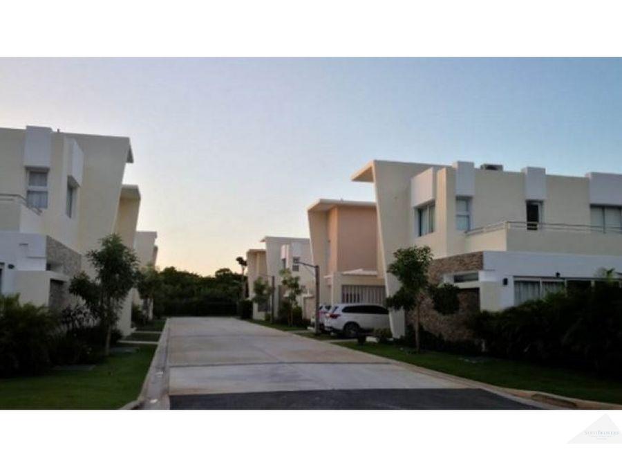 lindas villas 3 y 4 habitaciones 3 banos bavaro punta cana