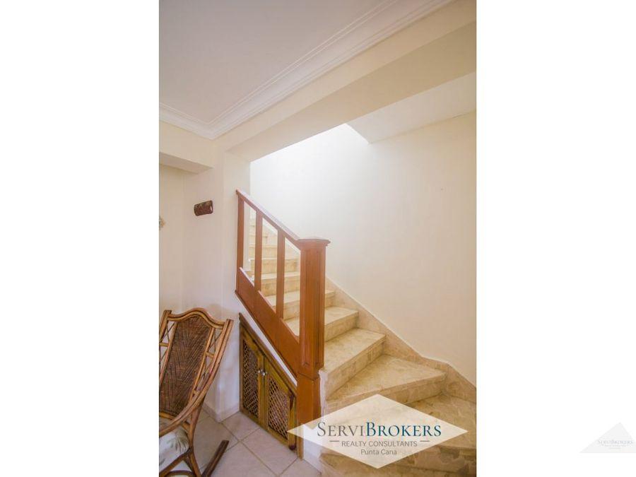 bavaro punta cana duplex de dos niveles en alquiler 3 habs cb 145