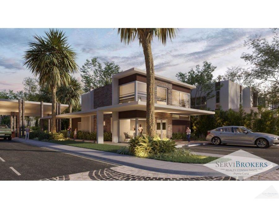 villas en venta 3 4 habitaciones ciudad las canas punta cana