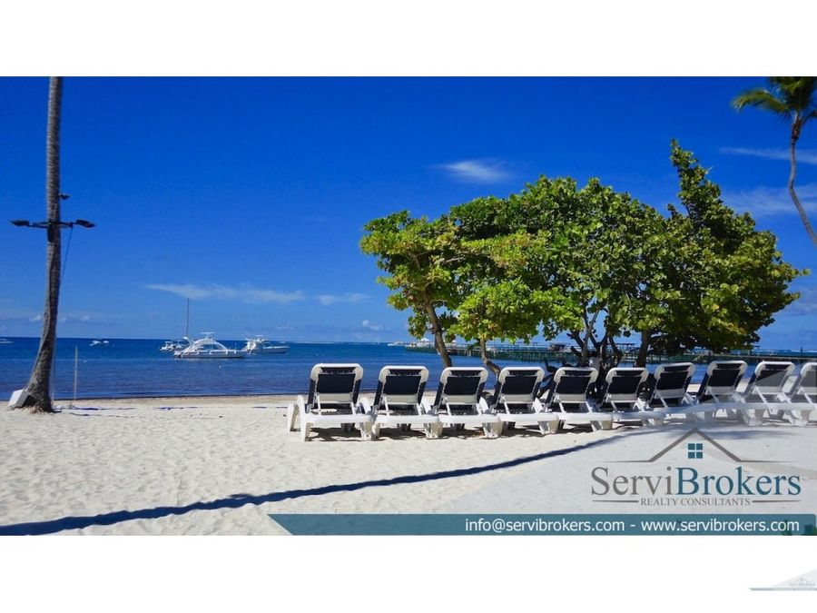 penthouse frente a la playa 3 hab punta cana