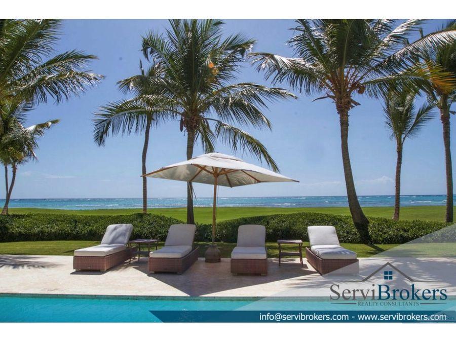 lujosa villa 7 habitaciones punta cana arrecife
