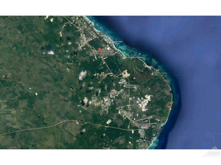 cocotal terreno venta 3110m2 venta 33475