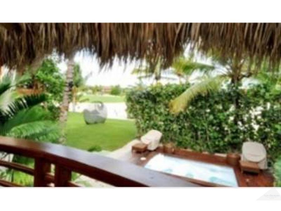 villa 6 hab 2 hab servicio cap cana caleton beach punta cana