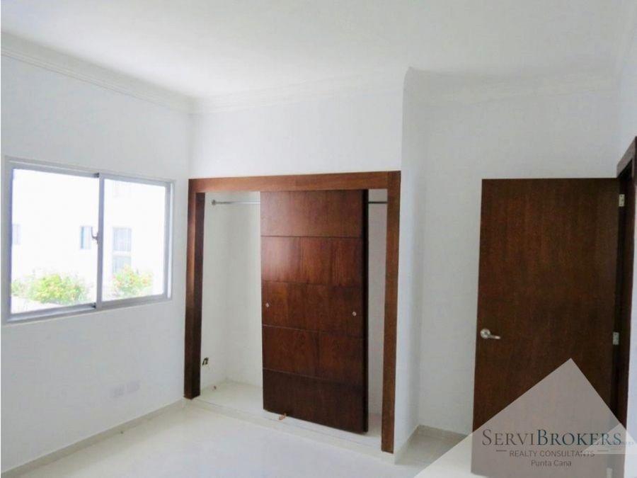 villas en venta 3 hab 3 banos servicio blvd bavaro punta cana
