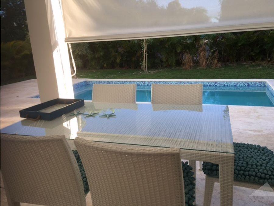 punta cana punta cana village 4 hab villa en venta con piscina