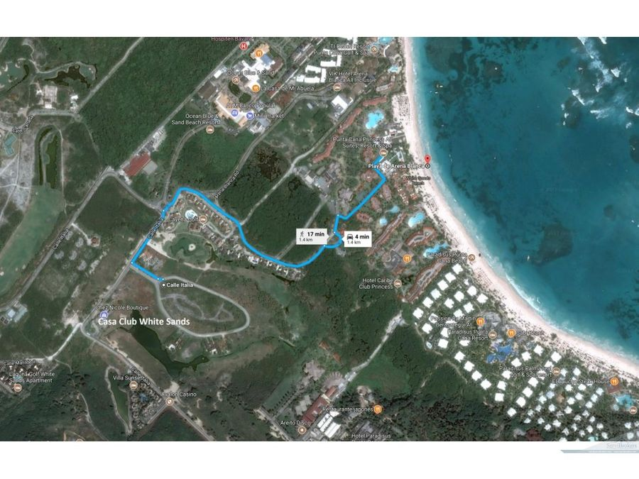 terreno 29000m2 white sands punta cana