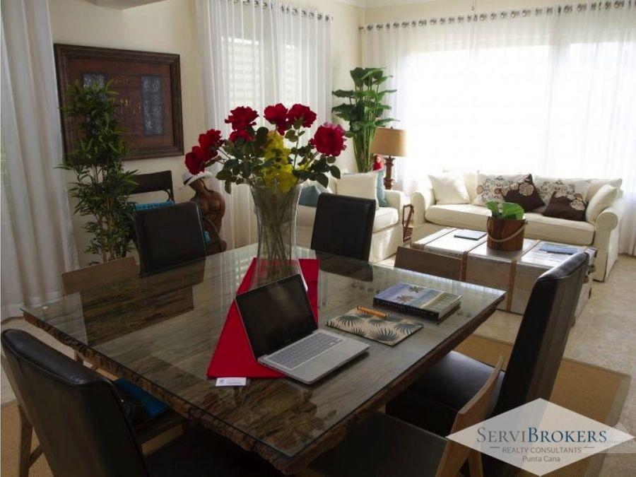 apartamento 3 habitaciones punta cana resort