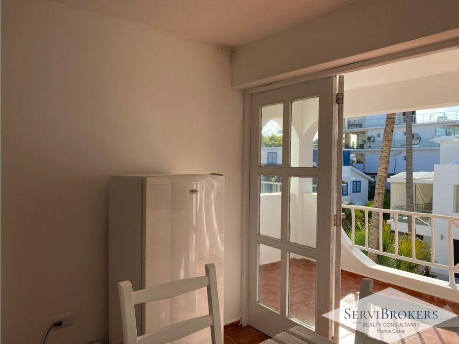 apartamento en alquiler frente al mar bavaro punta cana