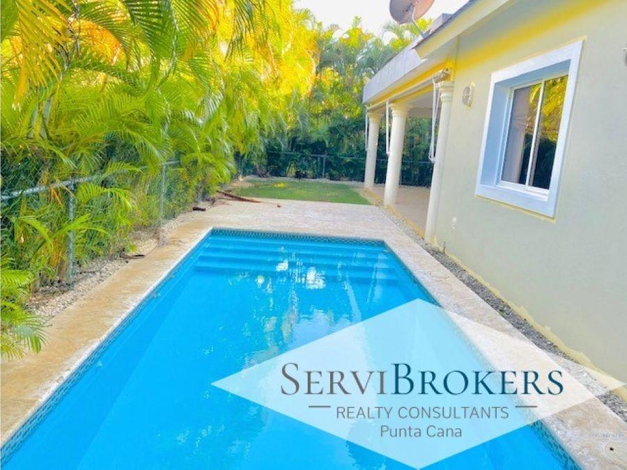 casa 3 habitaciones 35 banos con piscina