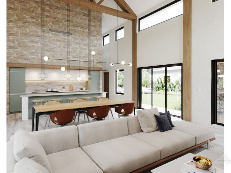 hermosa villa 2 habitaciones en venta punta cana