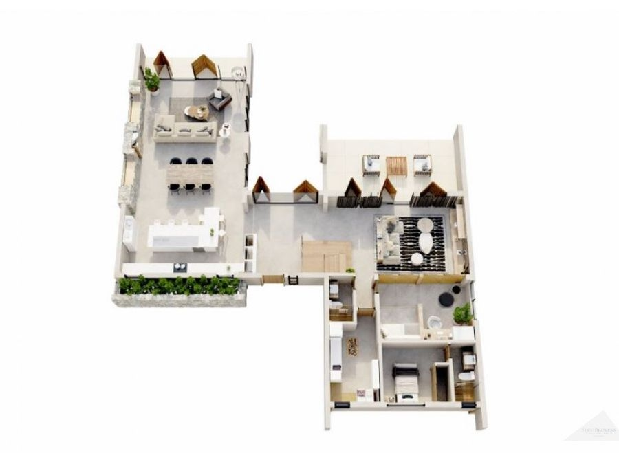 residencia ecuestre villa 4 habitaciones en venta punta cana