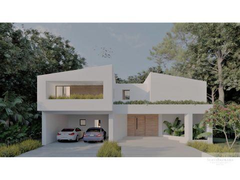 hermosa villa 4 habitaciones punta cana nueva