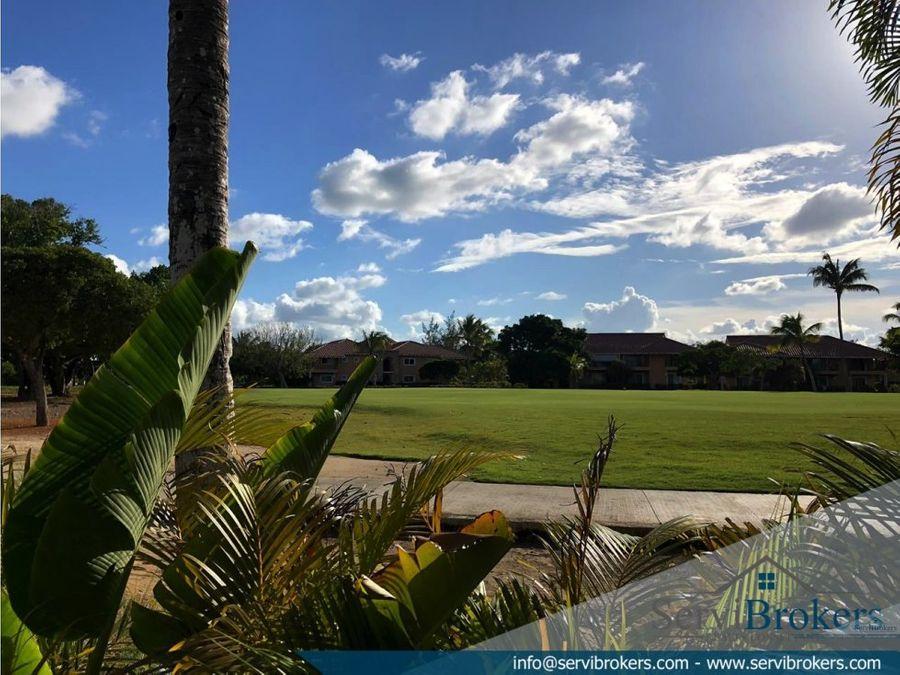 cocotal golf villa de 2 niveles 3 habitaciones