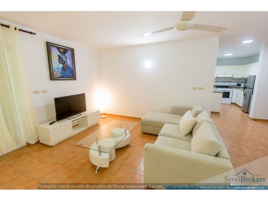 apartamento amueblado en venta white sands bavaro