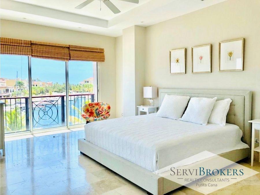 cap cana apartamento elegante 2 habitaciones 2 banos con muebles
