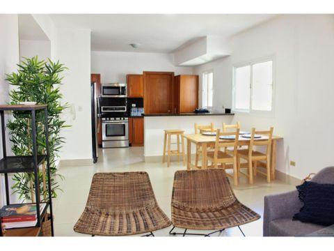 punta cana apartamento 2 habitaciones 2 banos con muebles
