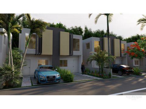 villa duplex en venta 2 habitaciones punta cana
