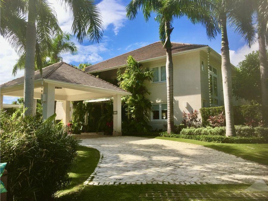 punta cana punta cana resort 4 hab villa con piscina en venta