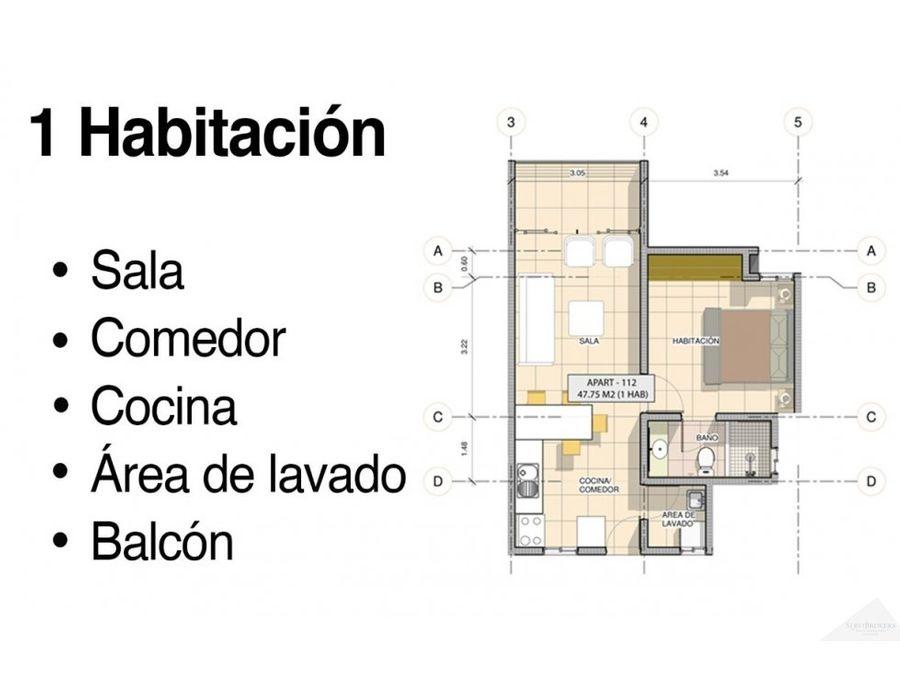 apartamentos venta 12 y 3 hab punta cana