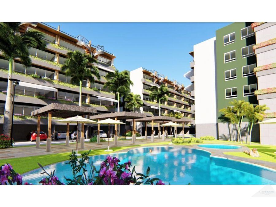 apartamentos en venta nuevos punta cana 1 y 2 habitaciones