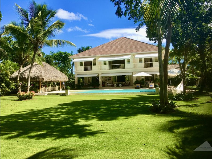 preciosa 4 hab villa con piscina en punta cana resort