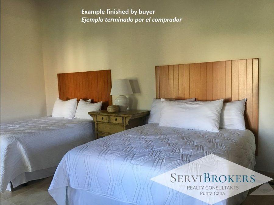 villa en venta 2 a 3 dormitorios 2 banos necesita reforma cap cana